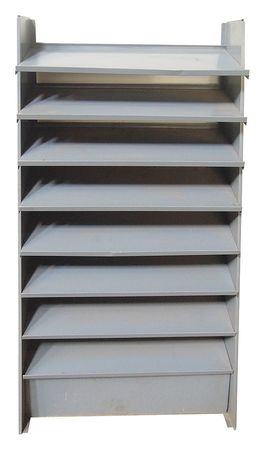 Pick Rack Floor Storage Unit, 61-3/8In H