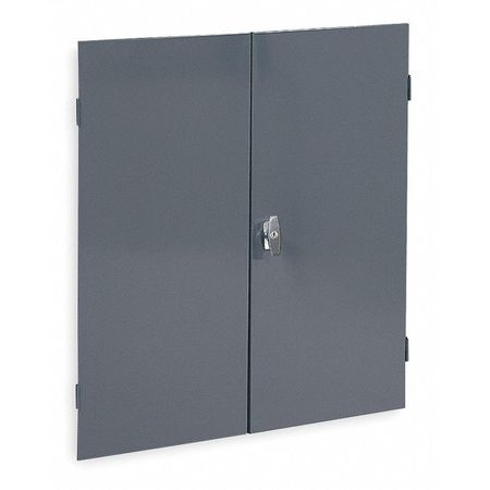 Door Set, 36 In. W, 37 In. H, Powder Coat