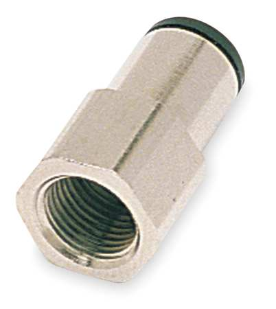 Female Connector, Pipe Size 1/4 In, PK10