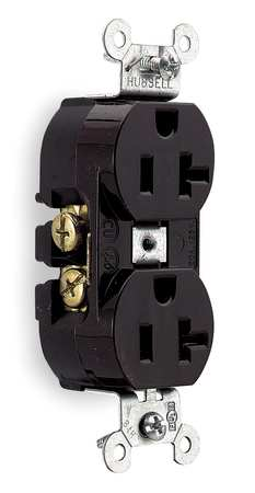 Hubbell Straight Blade Receptacles