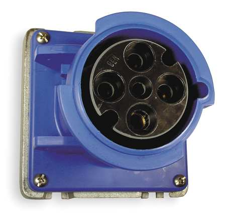 IEC Pin and Sleeve Receptacle, 60A, 250V