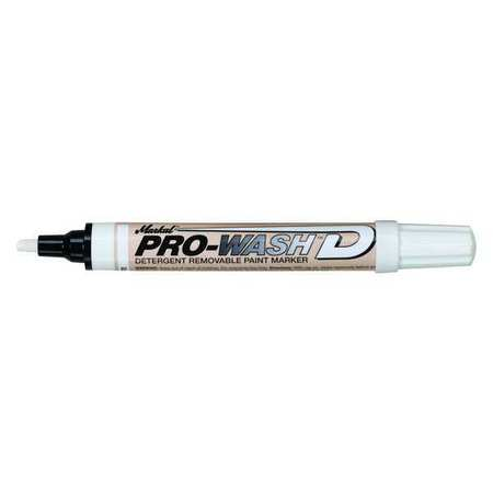 Paint Marker, Pro Wash D, White