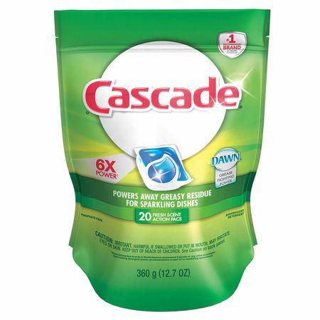 Dish Detergent, Fresh Scent, 12.2 oz., PK5
