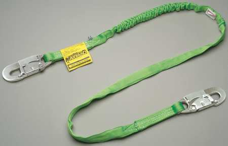 Lanyard, 1 Leg, Polyester, Green