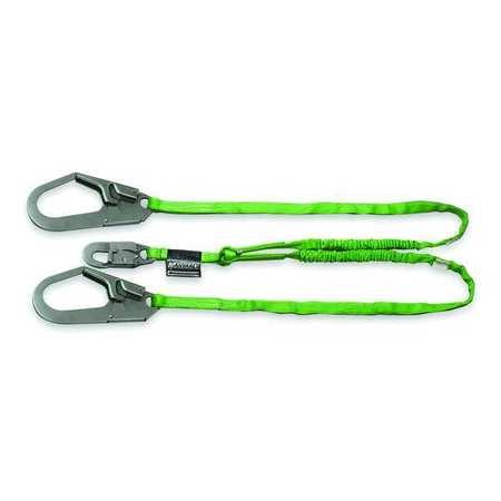 Lanyard, 2 Leg, Polyester, Green