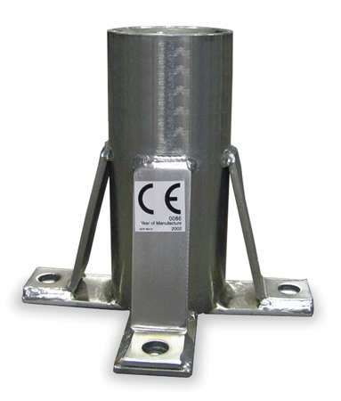 Hoist Floor Mount Sleeve, Stainless Steel