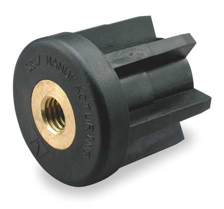 Round Tube End, 1/2-13 Thread