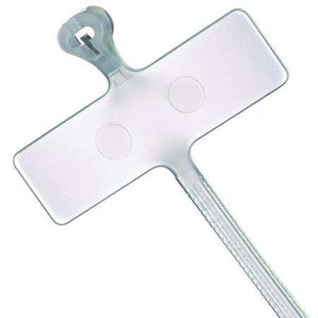 "3.6"" L Miniature Cable Tie NAT PK 500"