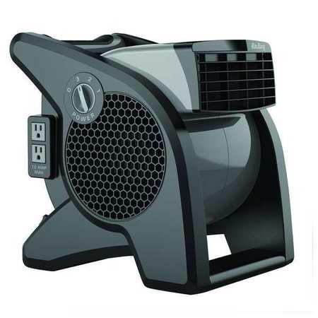 Nice Portable Blower Fan, 120V, 350 Cfm, Gray