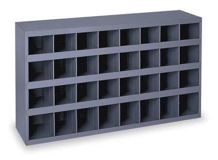 Bin Unit, 32 Bins, 33-3/4x8-1/2x19-1/4 In.