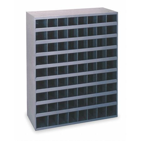 Bin Unit, 72 Bins, 33-3/4 x 8-1/2 x 42 In.