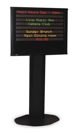 Message Display Sign