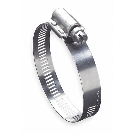 Hose Clamp, 1 to 3-1/2 In, SAE 48, SS, PK10