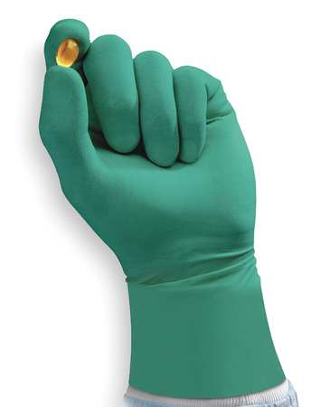 Cleanroom Gloves, Size 8-1/2, 7 mil, PK200