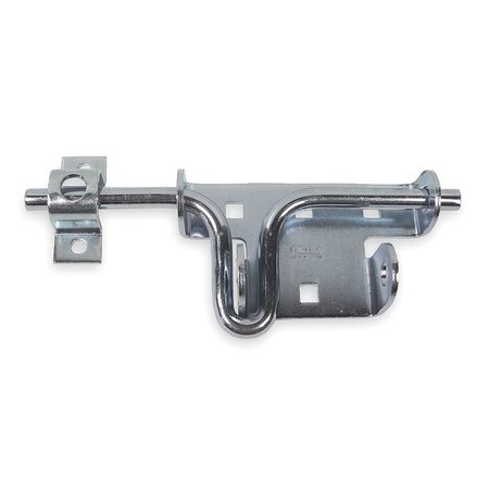 Padlockable Slide Latch, 2-1/4 In. W