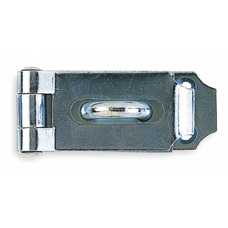 Hinge Hasp, Stainless Steel, 7-1/2 In. L