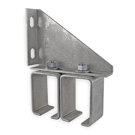 Bracket, Double Box, Steel, L 5 3/4 In
