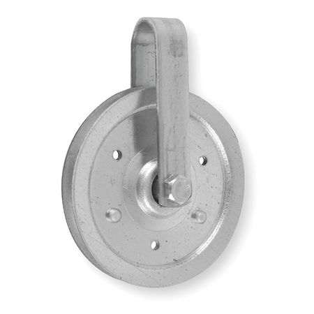 Cable Pulley, Steel, L 4 In