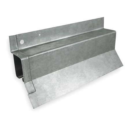 Covered Box Rail, Steel, L 120 In