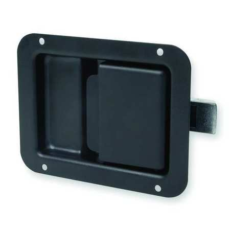 Paddle Latch, Nonlock, Black Powder Coated