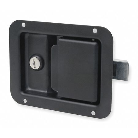 Paddle Latch, Black Powder Coated