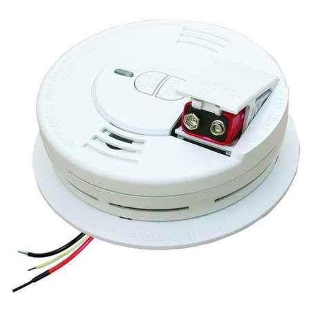 Smoke Alarm, Ionization, 120VAC,  9V