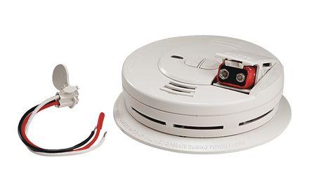 smoke alarm ionization 120vac 9v