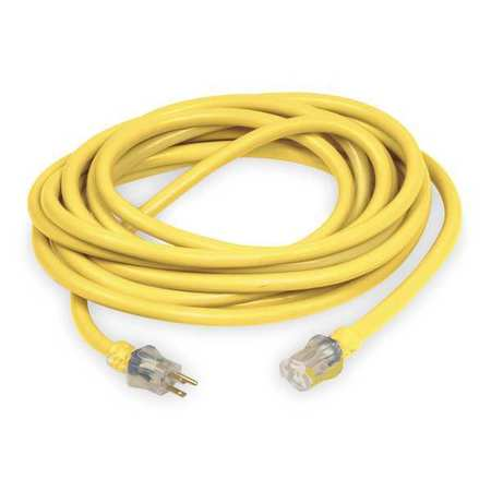 100 ft. 10/3 Lighted Extension Cord SJTW