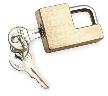 Adjustable Coupler Lock, Brass