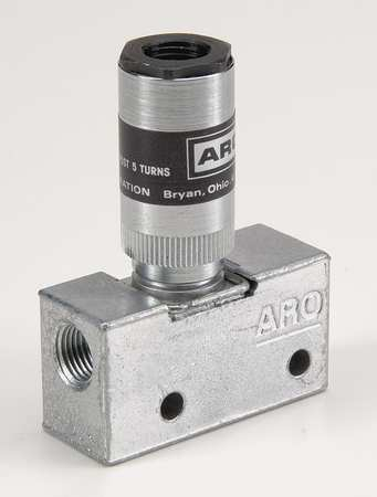 Air Pilot Valve, 3 Way, 2 pos,  1/8 NPT,