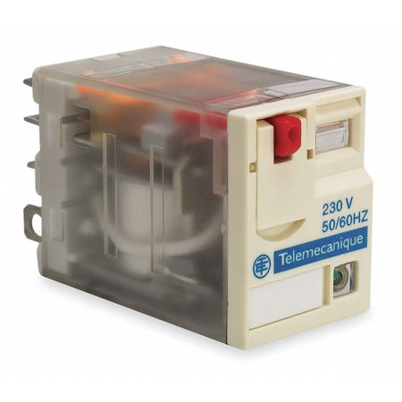Plug In Relay, 5 Pins, Square, 24VAC