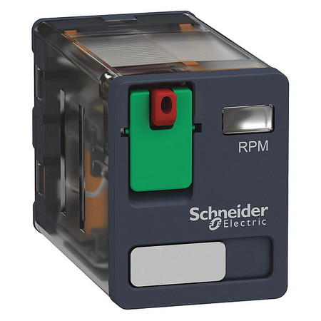 Plug In Relay, 8 Pins, Square, 230VAC