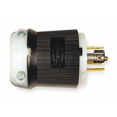 20A Locking Plug 4P 5W 120/208VAC L21-20P BK/WT