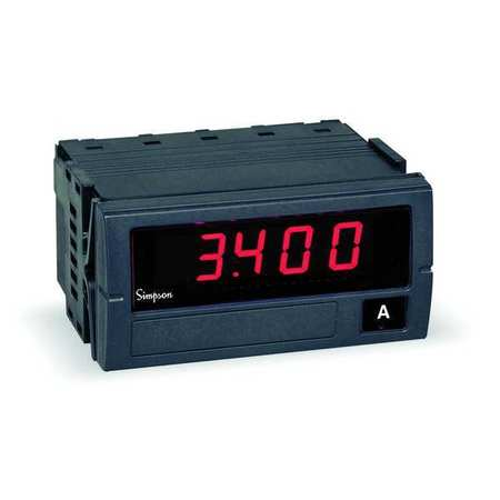 Digital Panel Meter, AC Current