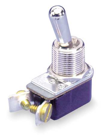Toggle Switch, SPST, 3A @ 250V, Screw