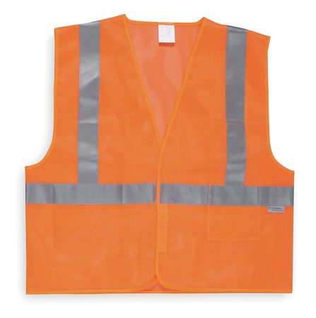 Medium Class 2 High Visibility Vest,  Orange