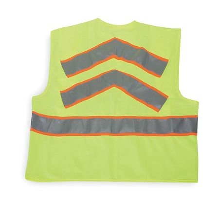 Large Class 2 High Visibility Vest,  Lime