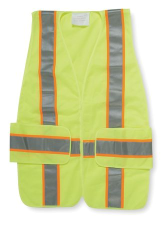 Expand High Visibility Vest, Class 2, XL/2XL, Lime