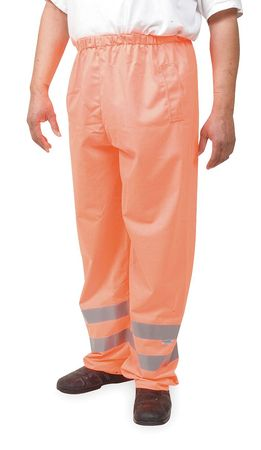 Over Pants, High Visibility Orange, Size 52 to 54x34