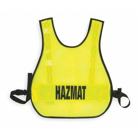 Safety Vest, Hazmat, Lime, Reflective