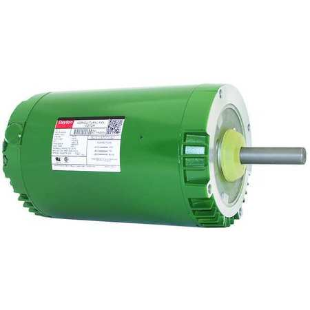 Poultry Fan Motor, 3 Ph, TEAO, 1 HP, 850 RPM