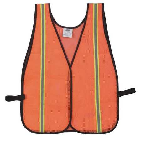 High Visibility Vest, Unrated, XL to 3XL, Orange