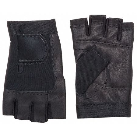 Anti-Vibration Gloves, L, Black, PR