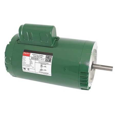 Poultry Fan Motor, PSC, TEAO, 1 HP, 850 RPM