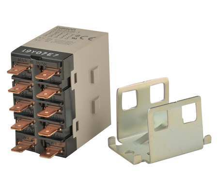 Enclosed Power Relay, 10Pin, 12VDC, DPST