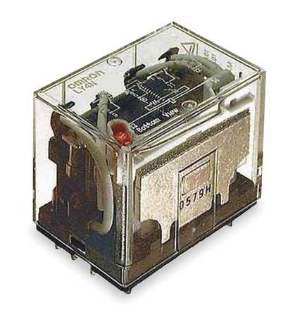 Plug In Relay, 14 Pins, Square, 12VDC