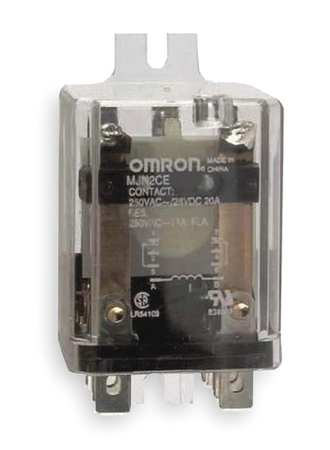 Enclosed Power Relay, 8Pin, DPDT, 20A, 24VDC