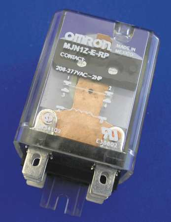 Enclosed Power Relay, 15A, 24VDC, SPDT