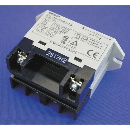 Enclosed Power Relay, 4 Pin, 12VDC, SPST-NO