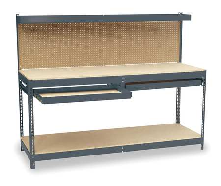 "Workbench, Particleboard, 72"" W, 24"" D"
